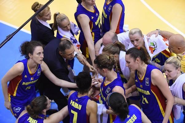 Eurobasket: România învinsă de Franța. Sătmăreanca Claudia Pop a marcat 14 puncte pentru România