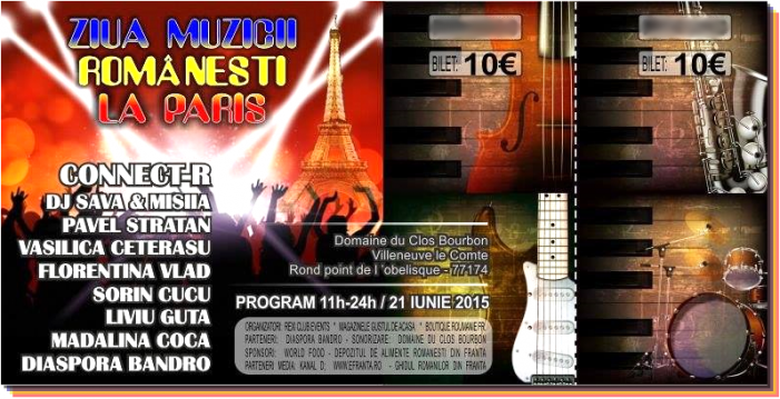 Trei oșeni organizează Ziua Muzicii Românești la Paris