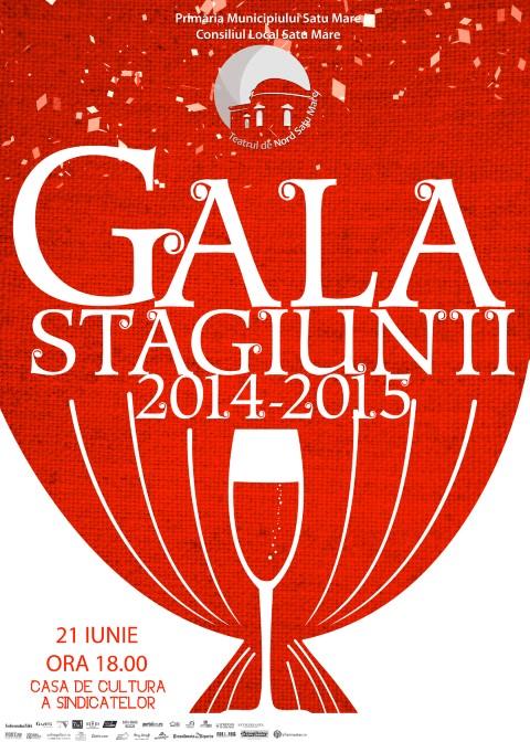 Teatru: Gala Stagiunii 2014-2015