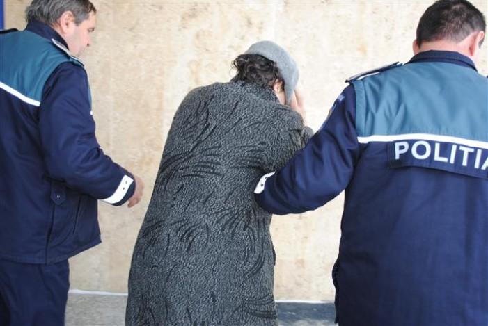 Sătmăreancă condamnată pentru înșelăciune, prinsă de polițiștii dâmbovițeni