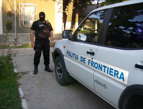Ucrainean căutat de polițiștii cehi, reţinut în PTF Halmeu
