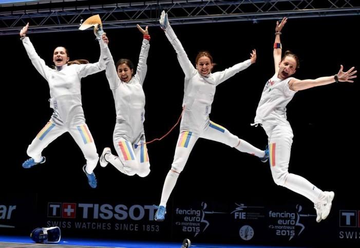 Cu SIMONA POP în lot, România cucerește aurul pe echipe la Campionatul European de scrimă !