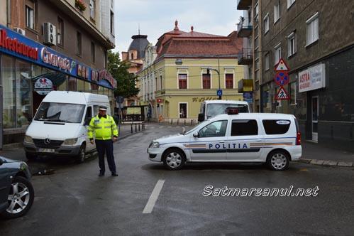 """Restricții de circulație în zona centrală, de """"Zilele Județului Satu Mare"""""""
