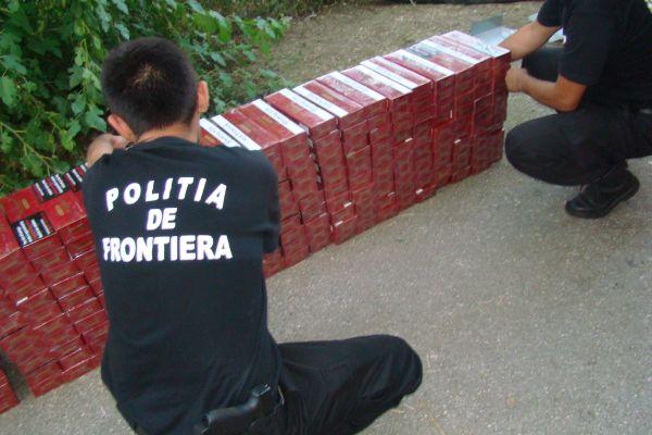 Polițist de frontieră din Tarna Mare, lovit de un contrabandist