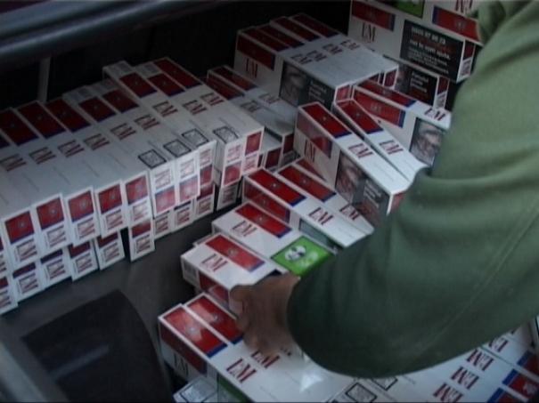 Mii de pachete de țigări, confiscate în luna octombrie