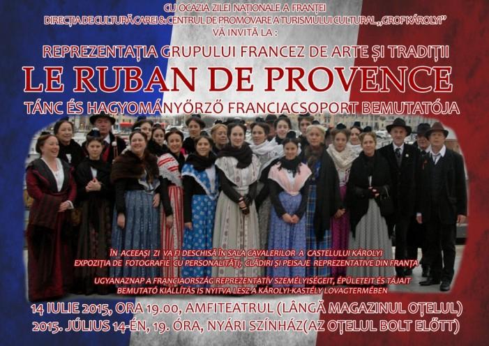 """Carei: Manifestări dedicate """"Zilei Naționale a Franței"""""""