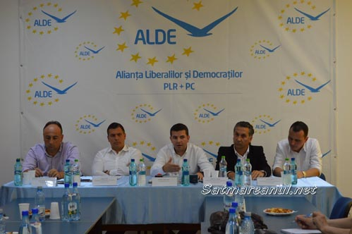 Ministrul Daniel Constantin a inaugurat sediul ALDE Satu Mare