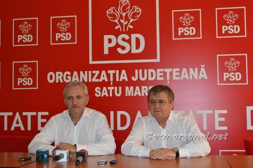 PSD Satu Mare îl susține pe Liviu Dragnea la conducerea partidului