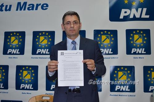 Petre Mureșan spune că liberalii vor să dea în judecată Consiliul Județean