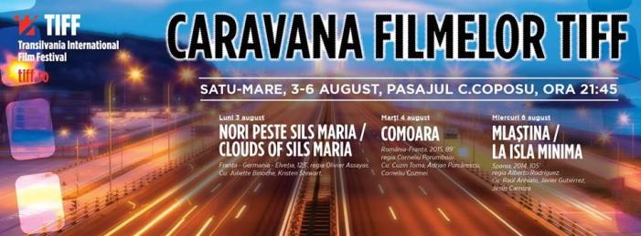 Caravana Filmelor TIFF ajunge la Satu Mare