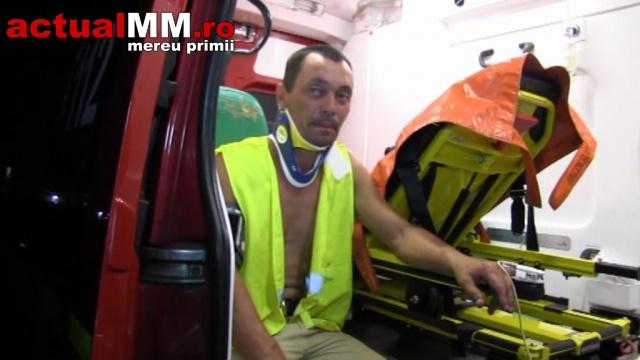 A ajuns cu mopedul în șanț fără să știe cum (Foto&Video)