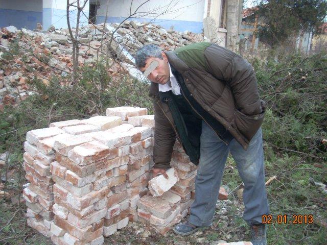 A furat cărămizi de la Pichetul de grăniceri din Viișoara