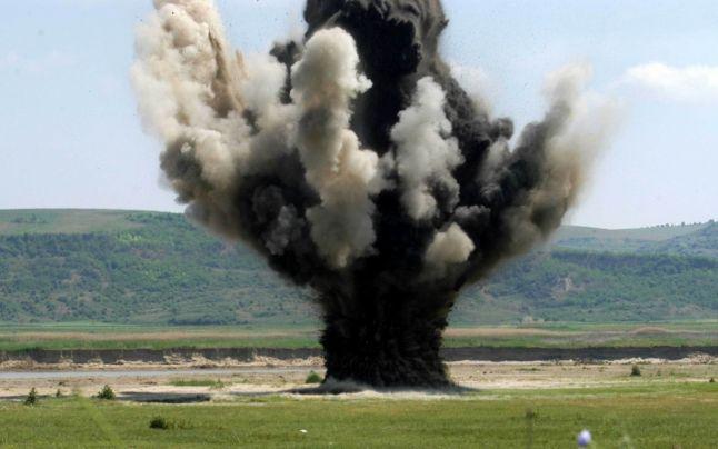Pompierii vor detona muniția neexplodată