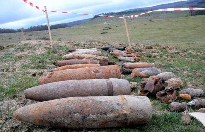 Proiectile din al Doilea Război Mondial, detonate la Moftin