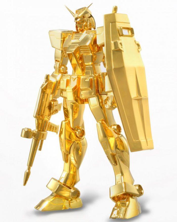 Japonezii au făcut un robot din aur. Vezi cât costă