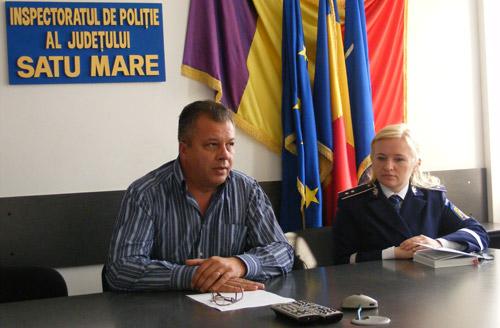 Emilian Șugac, noul adjunct al șefului IPJ Satu Mare