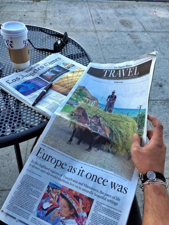 Un celebru ziar american vă invită să descoperiți România