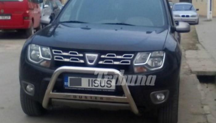 """Un popă și-a schimbat numărul mașinii în """"IISUS"""". Vezi ce amendă va primi"""
