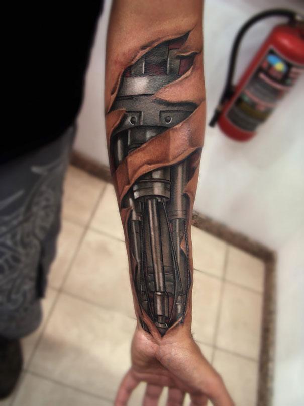 Tatuaje 3D impresionante (Galerie foto)