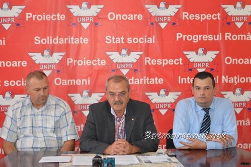 UNPR a fuzionat cu PP-DD și în județul Satu Mare