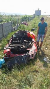 Accident cu doi morți. Cei doi tineri se îndreptau spre Supur (Foto)