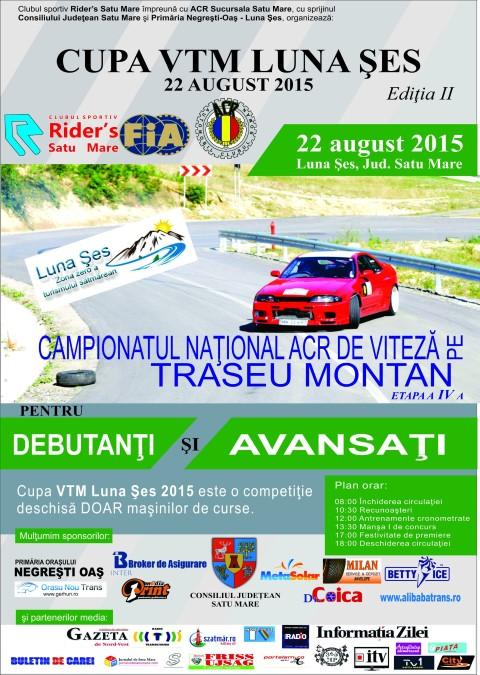 Campionatul Național ACR de viteză pe traseu montan 2015