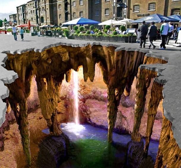 Desene 3D care transformă orașele în iluzii incredibile (Galerie foto)