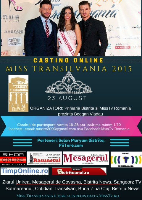 Miss Transilvania 2015