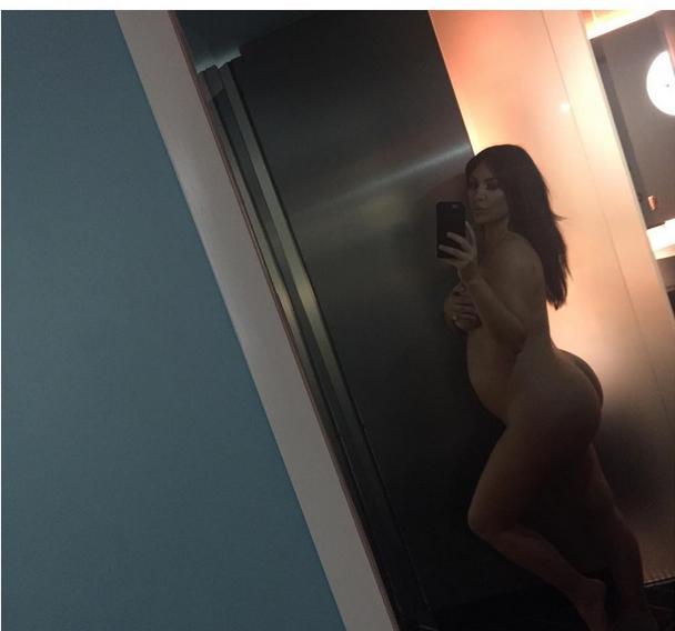 Kim Kardashian s-a pozat însărcinată