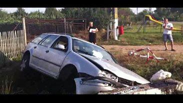 Un şofer beat criţă şi-a băgat amicul în spital (Foto)