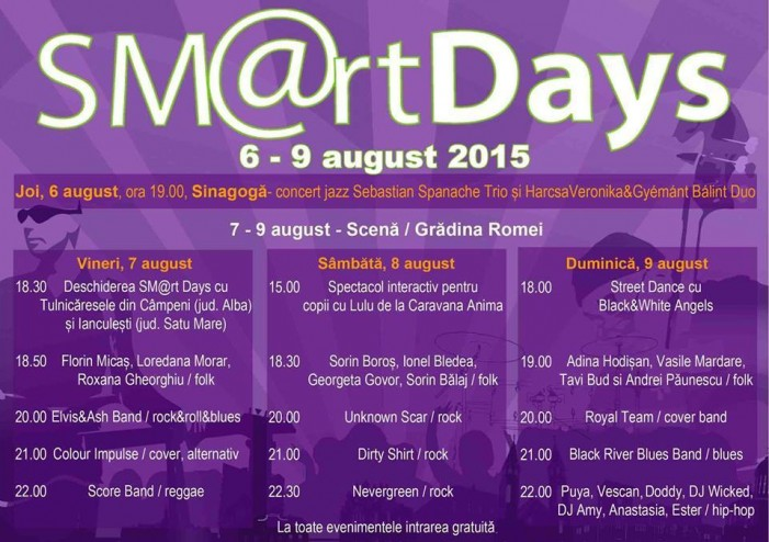 """SM@rt Days"" Satu Mare 2015"
