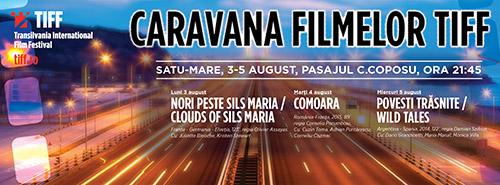 """Filmul """"Nori peste Sils Maria"""", în prima seară a Caravanei TIFF la Satu Mare"""