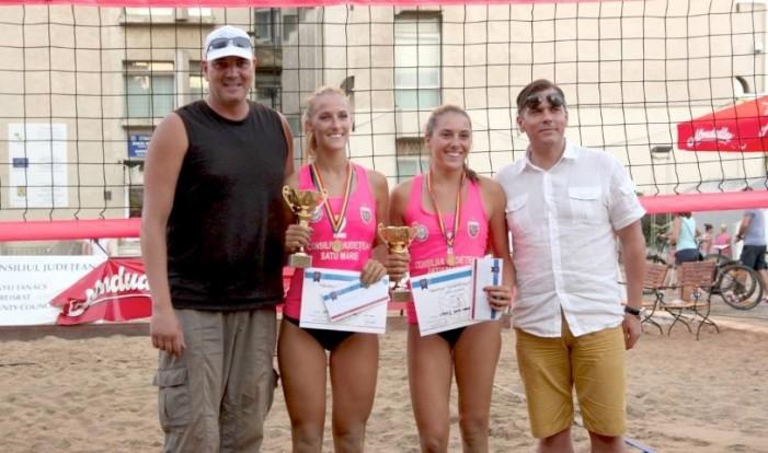 """CSM1 Satu Mare a câștigat """"Trofeul Sătmarului"""" la beach-volley (Galerie foto)"""