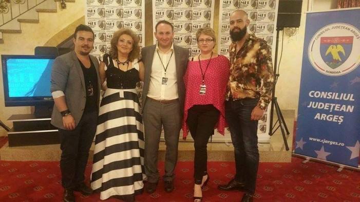 Designerul Ciprian Crăciun a participat la Festivalul Internațional de Modă din Pitești