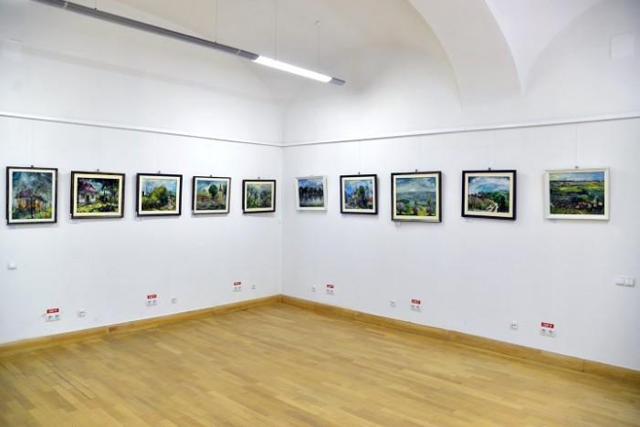 Expoziție de pictură în Plain-Air, vernisată la Carei (Foto)
