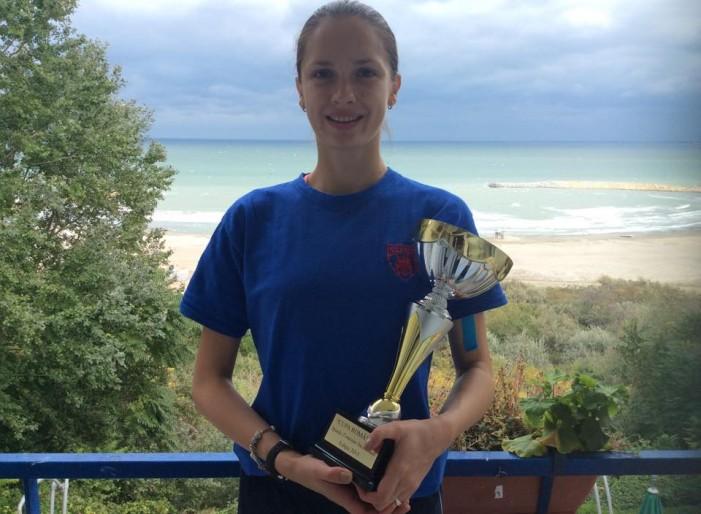 Simona Pop a câștigat Cupa României la spadă feminin individual