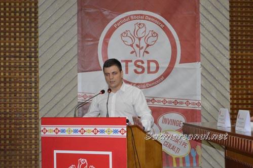 Raul Băbțan, reales în funcția de președinte al TSD Satu Mare (Foto)