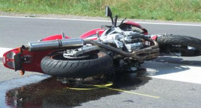 Motociclist accidentat grav în Carei