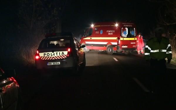 Accident lângă Supur: Un bărbat din Satu Mare a murit