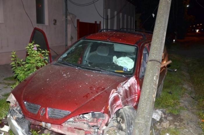 Accident cu trei răniți în localitatea Terebești