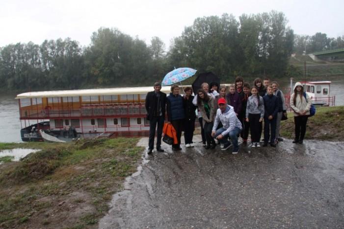 Cu vaporul pe Tisa (Foto)