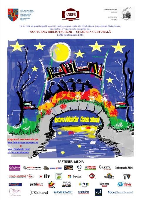 """""""Nocturna Bibliotecilor"""" se organizează și la Satu Mare"""