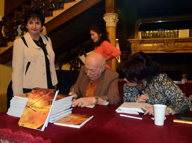 A fost lansată cartea profesorului Titus Doboș (Galerie foto)