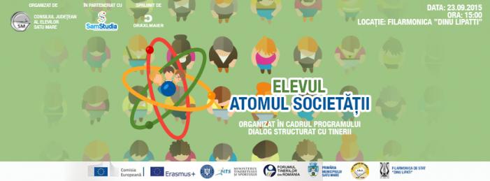 """CJE Satu Mare: """"Elevul Atomul Societății"""""""