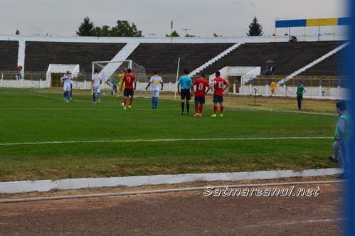 Olimpia Satu Mare învinge FC Bihor Oradea cu 2-1