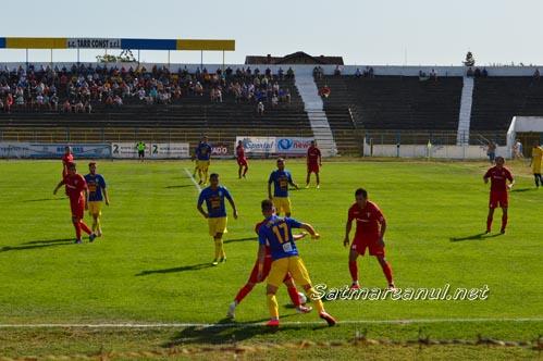Fotbal: Olimpia Satu Mare-UTA Arad 2-3