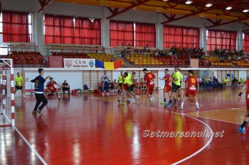 Handbal: CSM Satu Mare-CNE Sighișoara 45-34