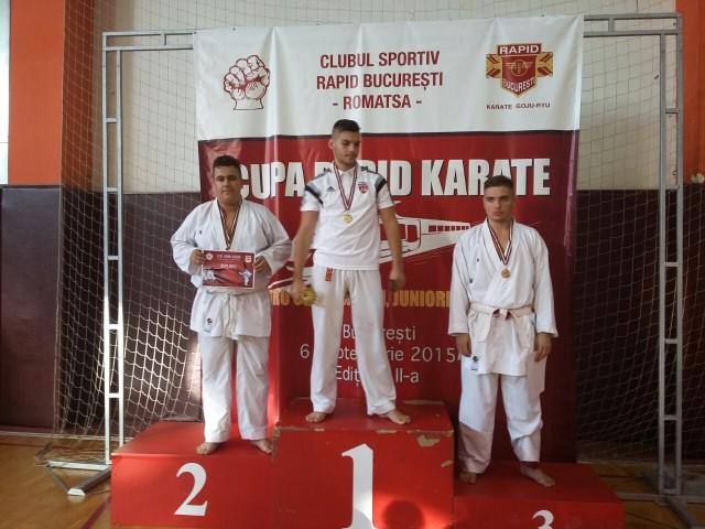 Cinci medalii pentru CSM Satu Mare la Cupa Rapid la karate