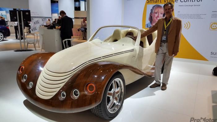 Mașina unui român face senzație la Salonul Auto de la Frankfurt (Foto&Video)
