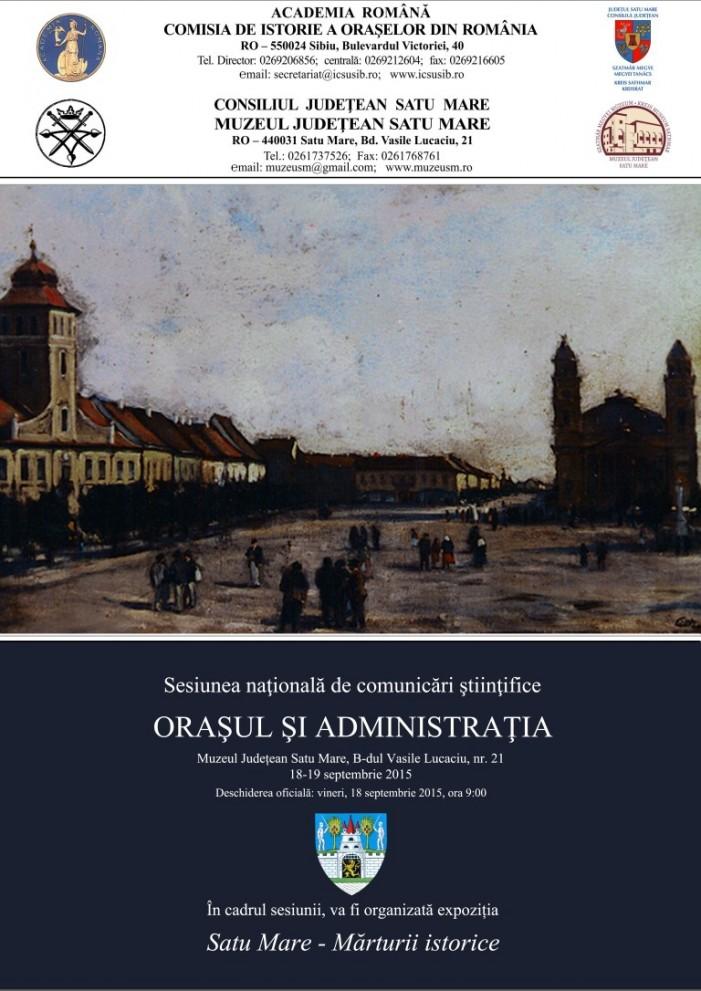 Sesiune națională de comunicări științifice la Satu Mare